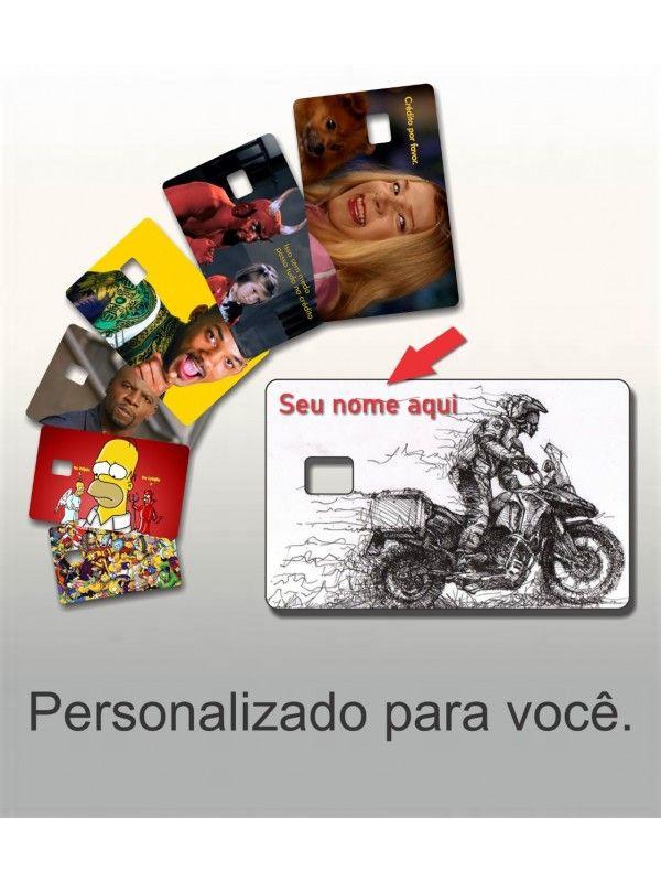 ADESIVO PROTETOR DE CARTÃO DE CREDITO PERSONALIZADO