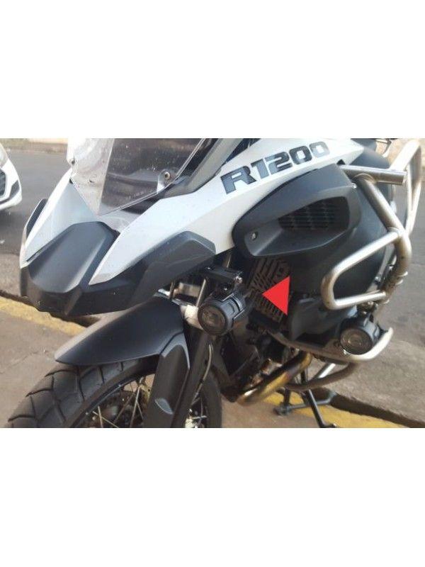 BMW R1200/1250 LC GS/GSA >  SUP FAROIS AUX MODELO ORIGINAL EM ACO - SEM LED