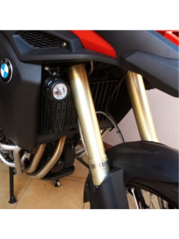 BMW F800 GS> PROTETOR DE RADIADOR INOX