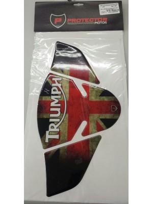 TRIUMPH - PROTETOR DE TANQUE (TANK PAD) EXC - 144B