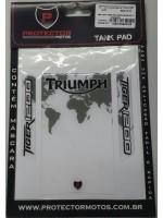 TRIUMPH - PROTETOR DE TANQUE (TANK PAD) EXC - 151T