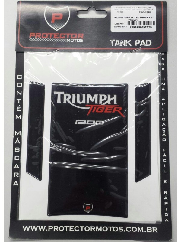 TRIUMPH - PROTETOR DE TANQUE (TANK PAD) EXC - 152B