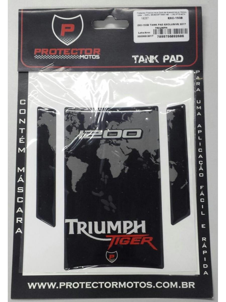 TRIUMPH - PROTETOR DE TANQUE (TANK PAD) EXC - 153B
