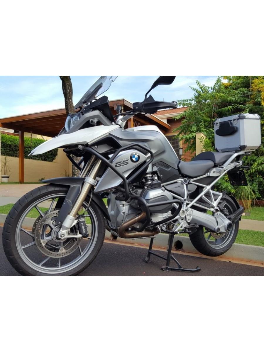 BMW R1200 LC GS PREMIUM/SPORT > TOPCASE ALUMÍNIO 39 L (1 CAPACETE) ENCAIXE DIRETO NO BAGAGEIRO, NECESSITA TROCA DE BASE DO BAGAGEIRO ORIGINAL