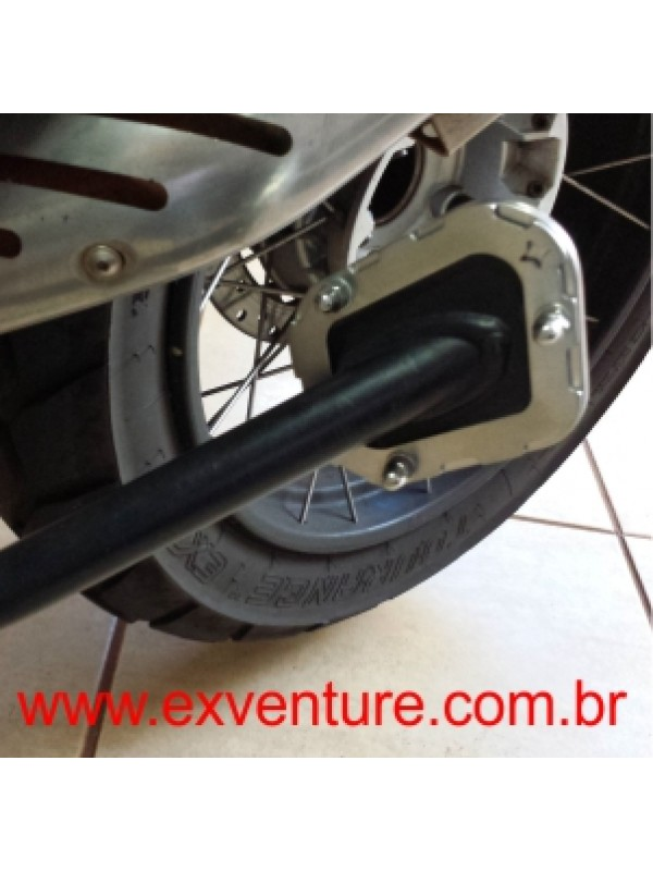 BMW R1200 AC GS ADVENTURE > AMPLIADOR DE DESCANSO INOX